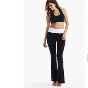 Victoria's Secret Yoga Bootcut Foldover Pant